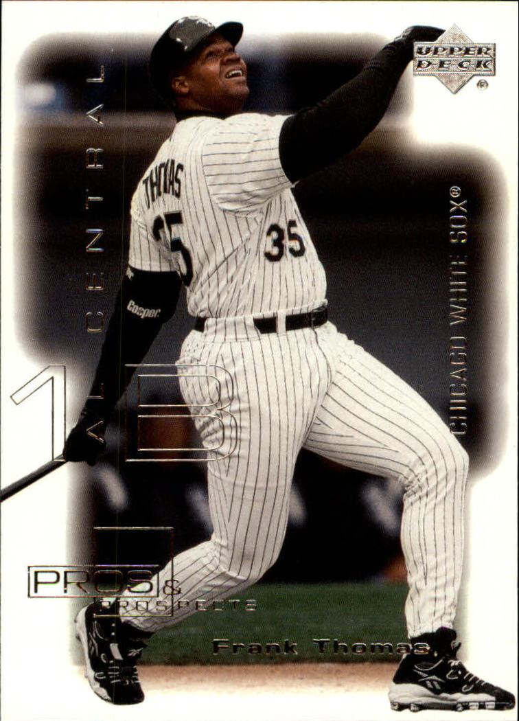 2000 Upper Deck Pros and Prospects #38 Frank Thomas