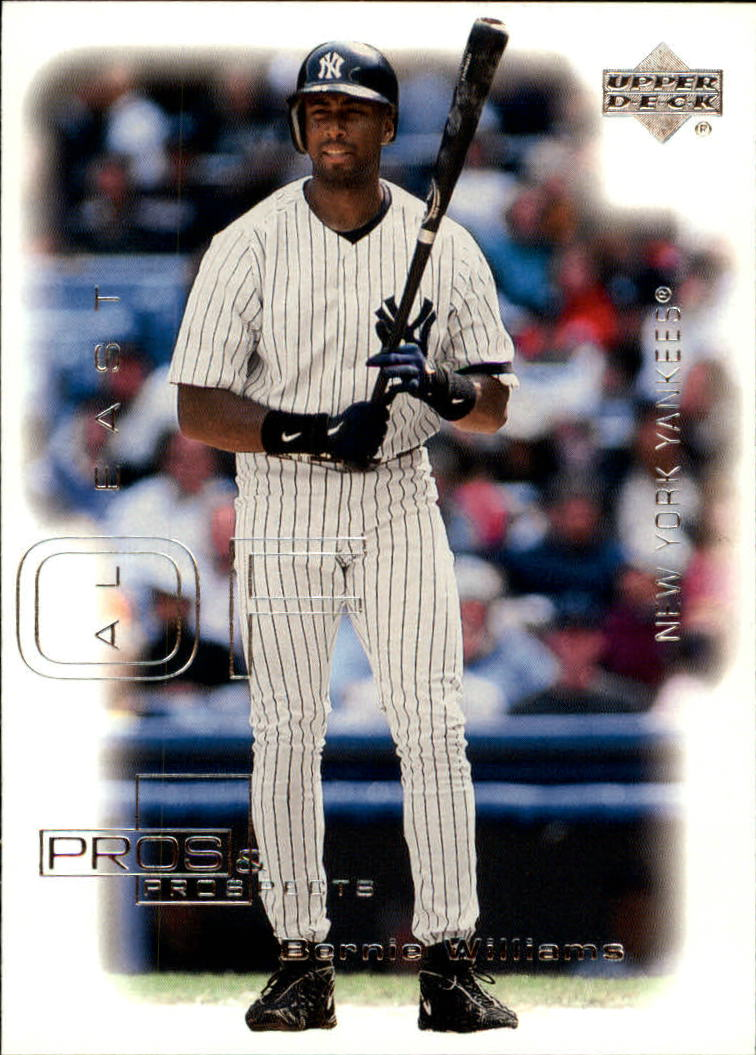 2000 Upper Deck Pros and Prospects #42 Bernie Williams