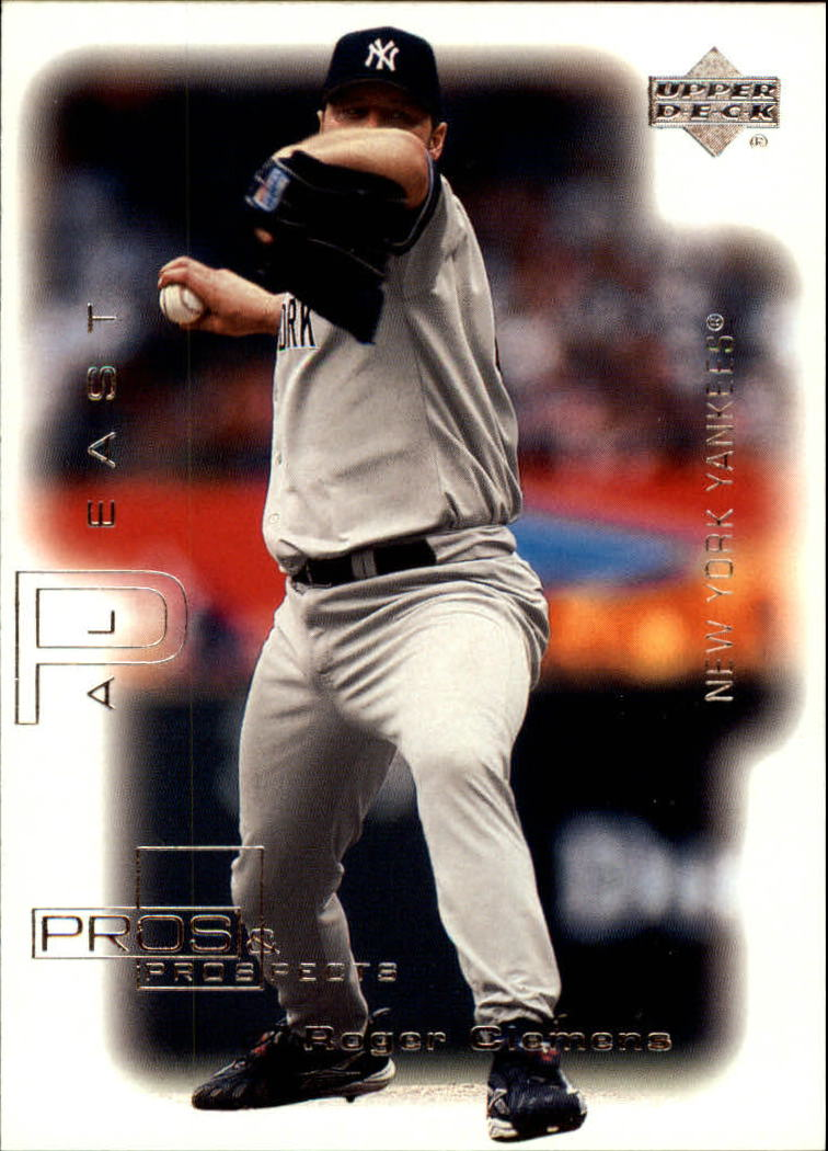 2000 Upper Deck Pros and Prospects #44 Roger Clemens