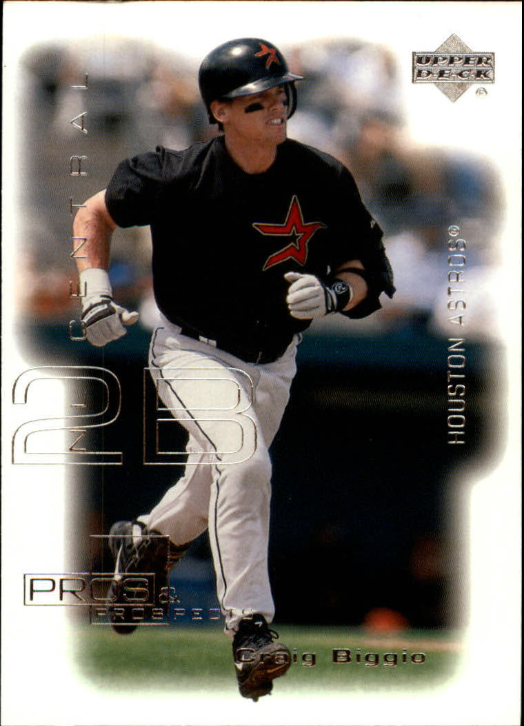 2000 Upper Deck Pros and Prospects #46 Craig Biggio