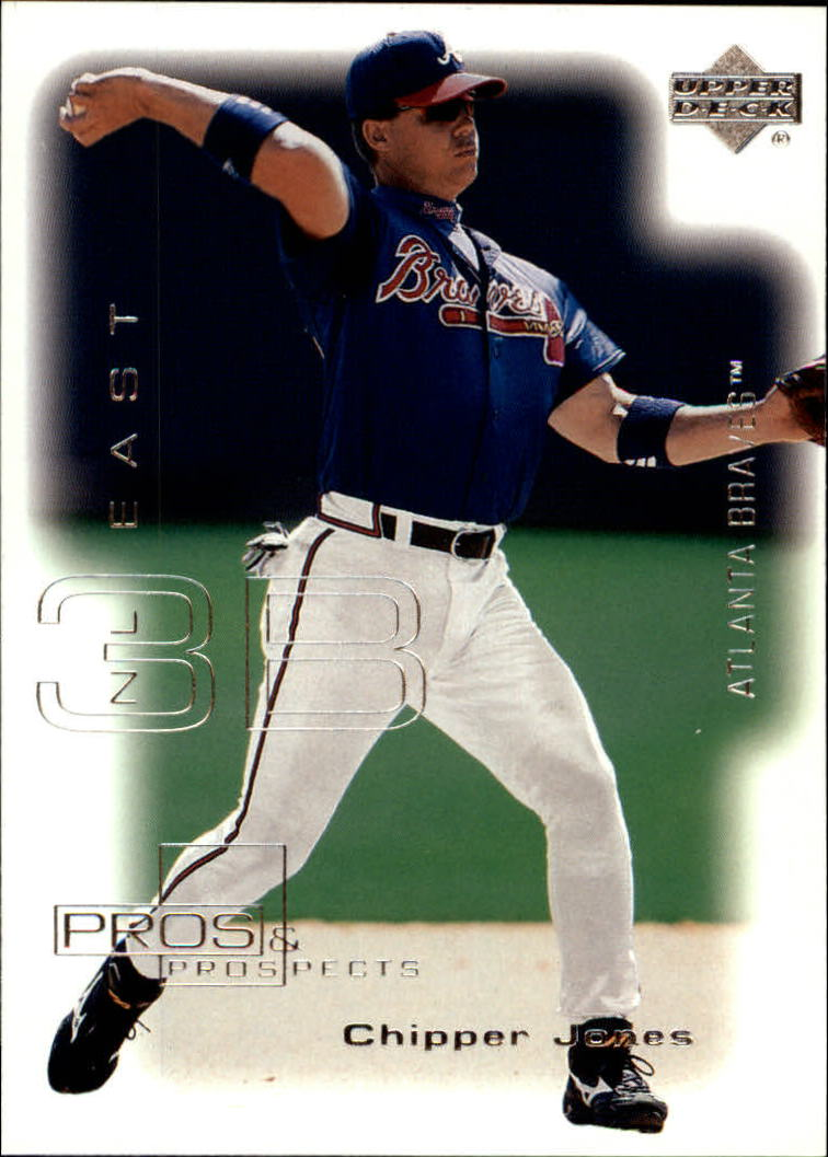 2000 Upper Deck Pros and Prospects #48 Chipper Jones