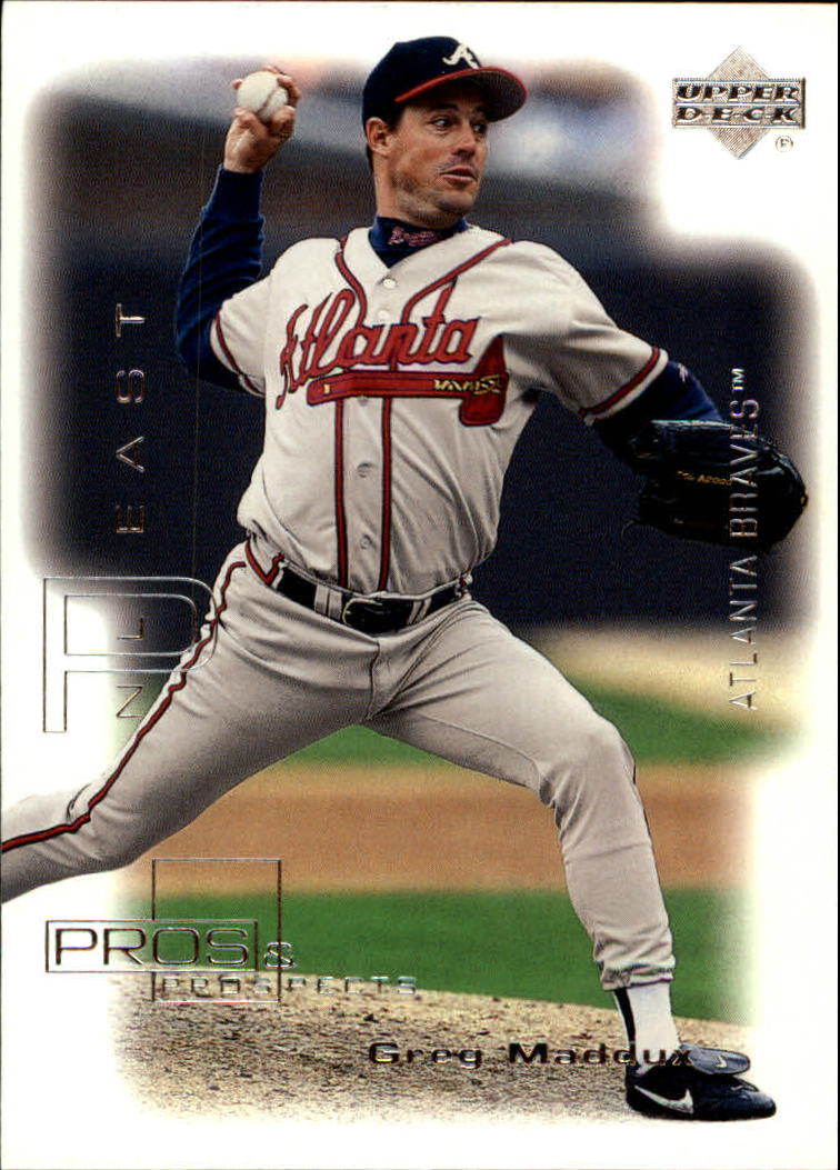 2000 Upper Deck Pros and Prospects #51 Greg Maddux