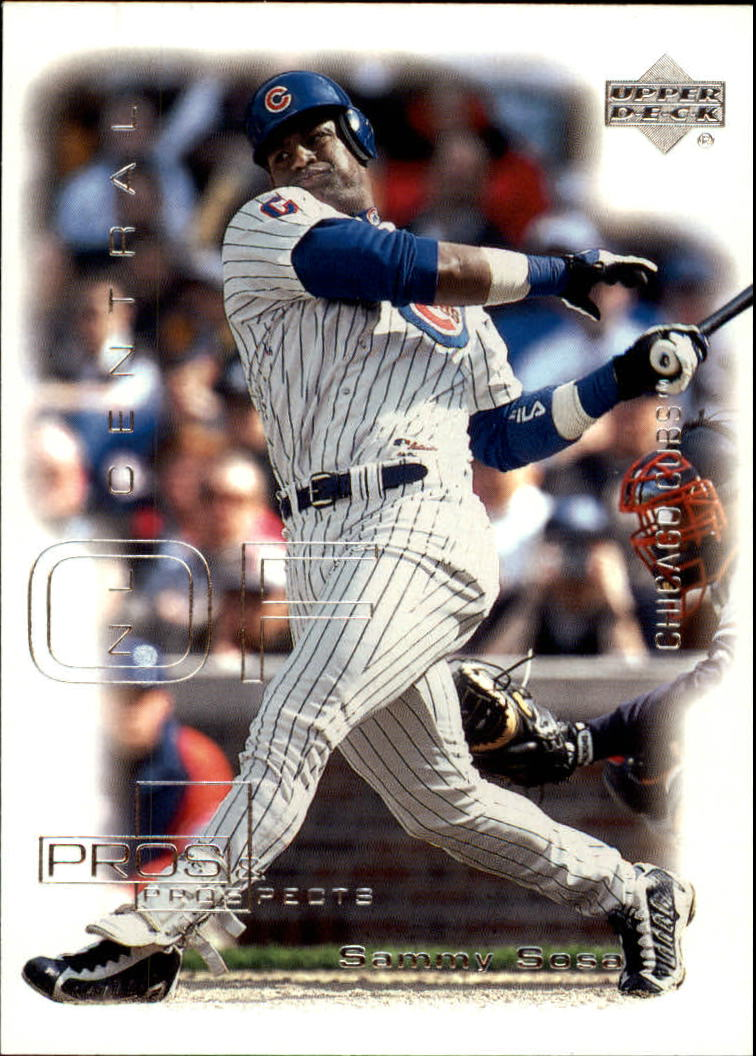 2000 Upper Deck Pros and Prospects #58 Sammy Sosa