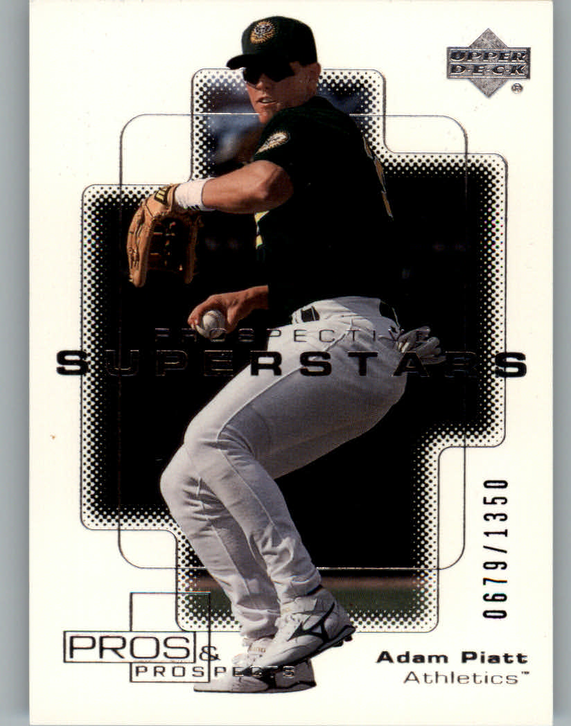 2000 Upper Deck Pros and Prospects #98 Adam Piatt PS