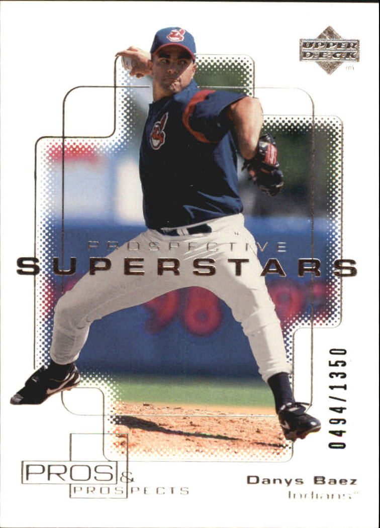 2000 Upper Deck Pros and Prospects #104 Danys Baez PS RC