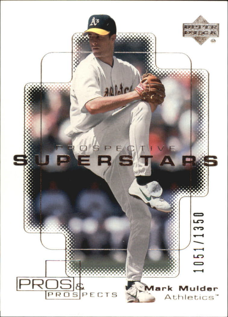 2000 Upper Deck Pros and Prospects #106 Mark Mulder PS