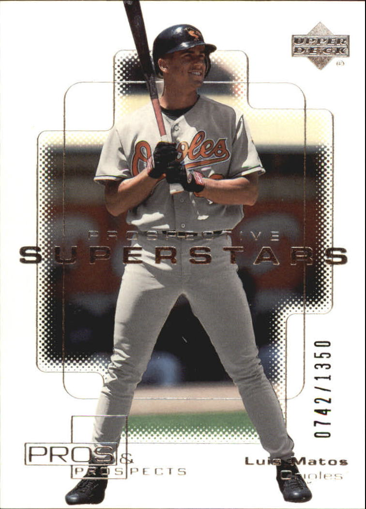 2000 Upper Deck Pros and Prospects #108 Luis Matos PS RC