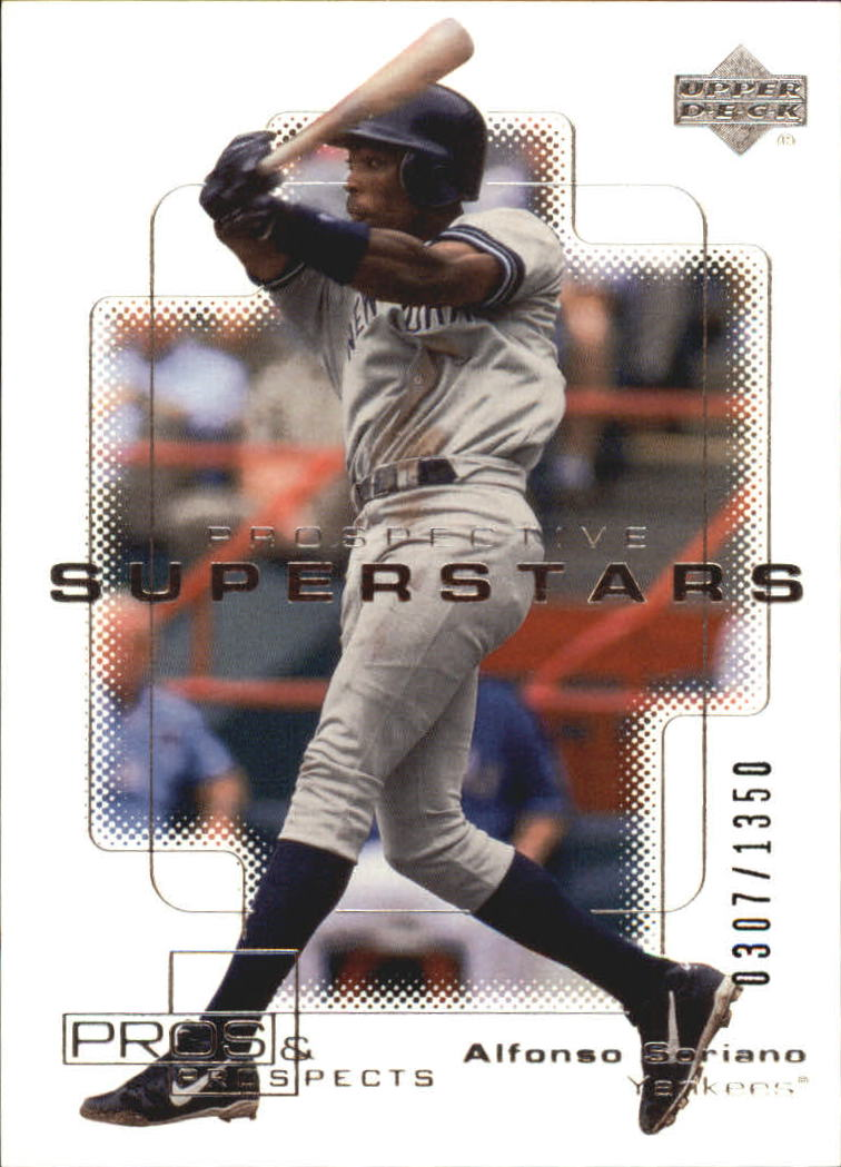 2000 Upper Deck Pros and Prospects #109 Alfonso Soriano PS