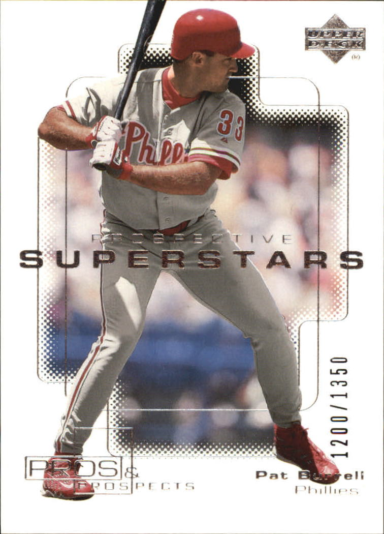 2000 Upper Deck Pros and Prospects #110 Pat Burrell PS