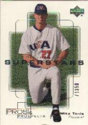 2000 Upper Deck Pros and Prospects #111 Mike Tonis PS RC