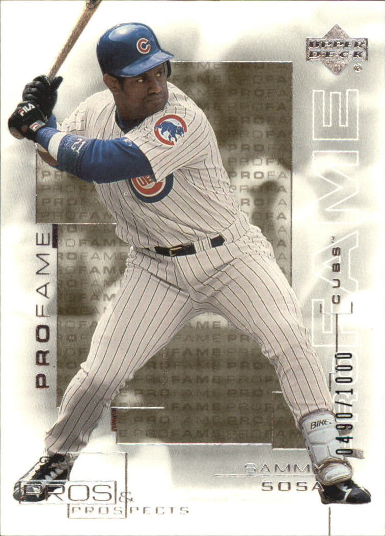 2000 Upper Deck Pros and Prospects #129 Sammy Sosa PF