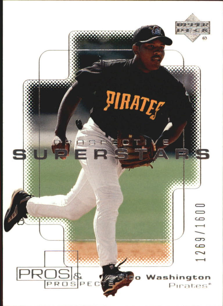 2000 Upper Deck Pros and Prospects #140 Rico Washington PS RC