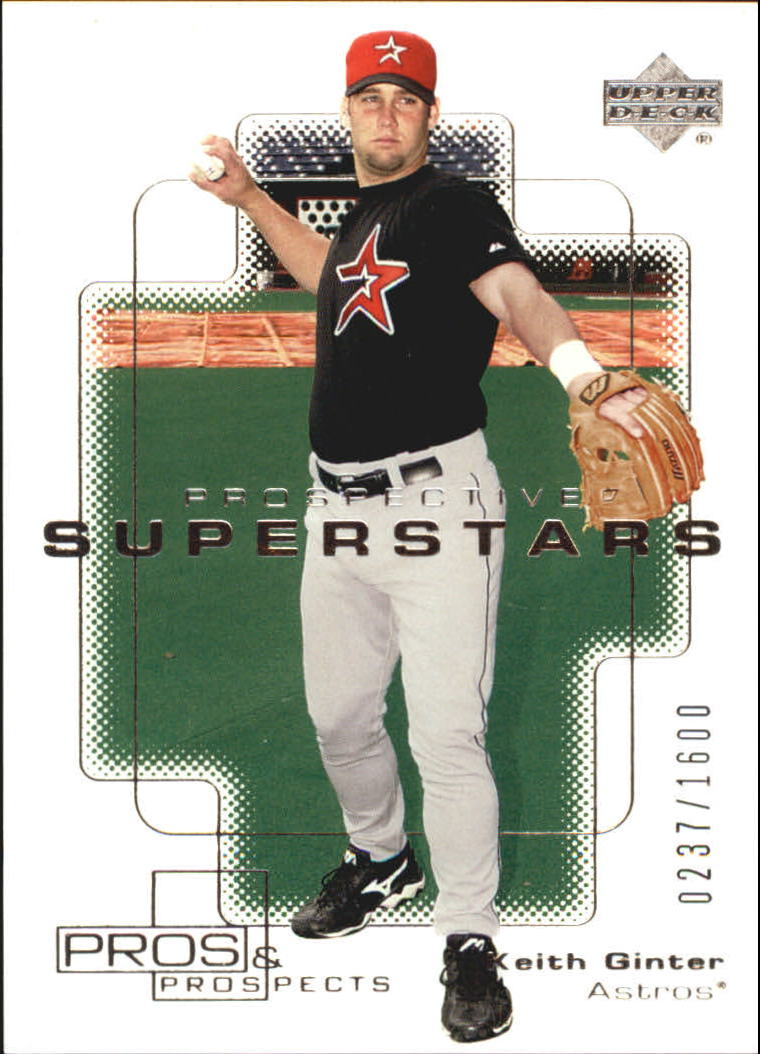 2000 Upper Deck Pros and Prospects #145 Keith Ginter PS RC