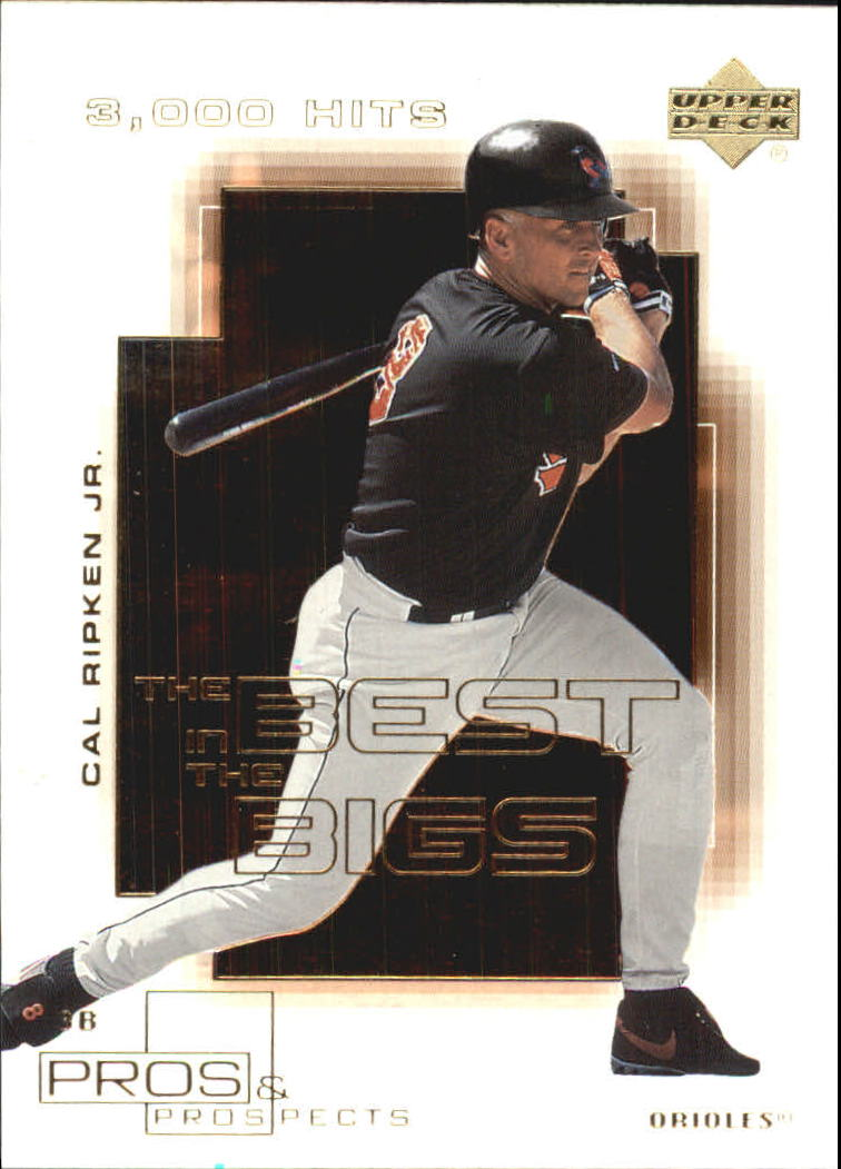 2000 Upper Deck Pros and Prospects Best in the Bigs #B8 Cal Ripken