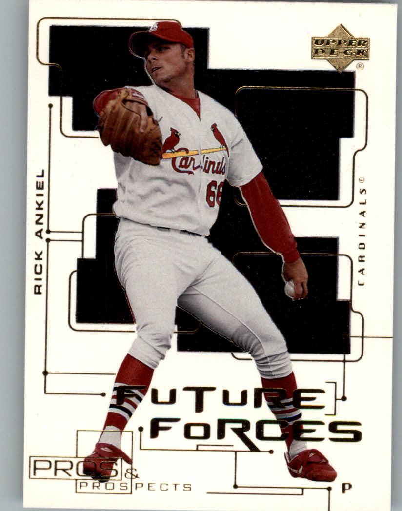 2000 Upper Deck Pros and Prospects Future Forces #F3 Rick Ankiel