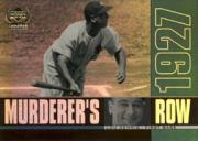 2000 Upper Deck Yankees Legends Murderer's Row #MR4 Lou Gehrig