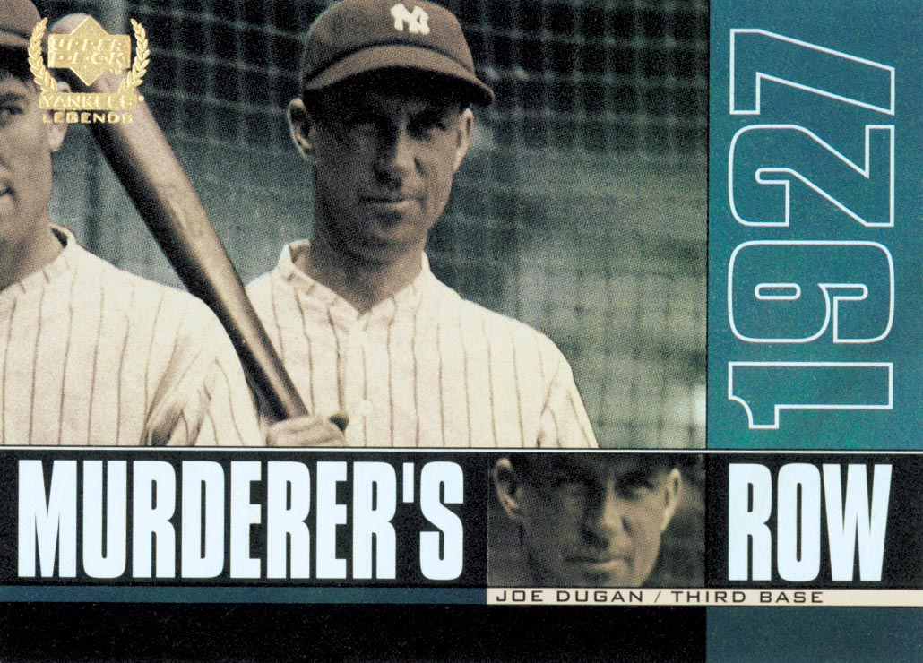 2000 Upper Deck Yankees Legends Murderer's Row #MR6 Bill Dickey
