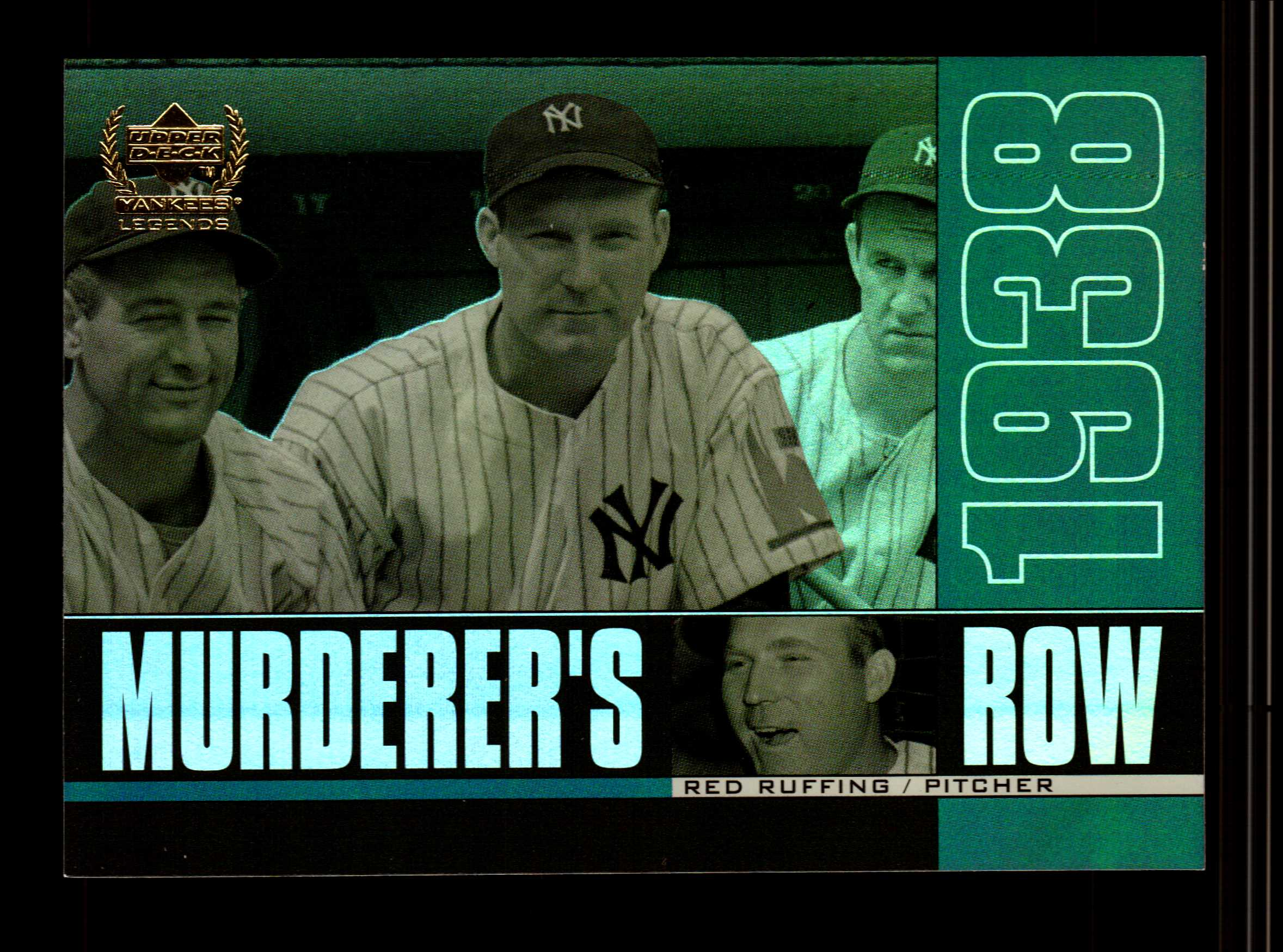 2000 Upper Deck Yankees Legends Murderer's Row #MR8 Red Ruffing