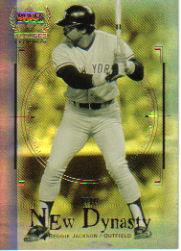 2000 Upper Deck Yankees Legends New Dynasty #ND1 Reggie Jackson