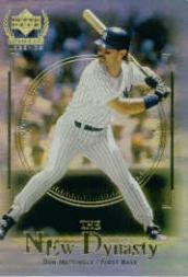 2000 Upper Deck Yankees Legends New Dynasty #ND3 Don Mattingly