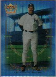 2000 Upper Deck Yankees Legends New Dynasty #ND6 Chris Chambliss