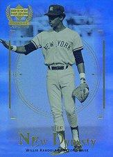 2000 Upper Deck Yankees Legends New Dynasty #ND8 Willie Randolph