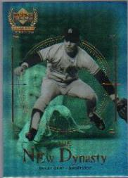 2000 Upper Deck Yankees Legends New Dynasty #ND10 Bucky Dent