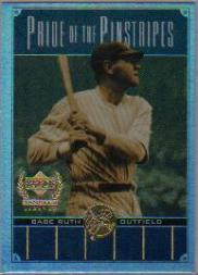 2000 Upper Deck Yankees Legends Pride of the Pinstripes #PP1 Babe Ruth