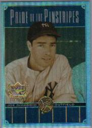 2000 Upper Deck Yankees Legends Pride of the Pinstripes #PP3 Joe DiMaggio