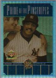 2000 Upper Deck Yankees Legends Pride of the Pinstripes #PP5 Reggie Jackson front image