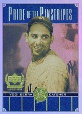 2000 Upper Deck Yankees Legends Pride of the Pinstripes #PP6 Yogi Berra