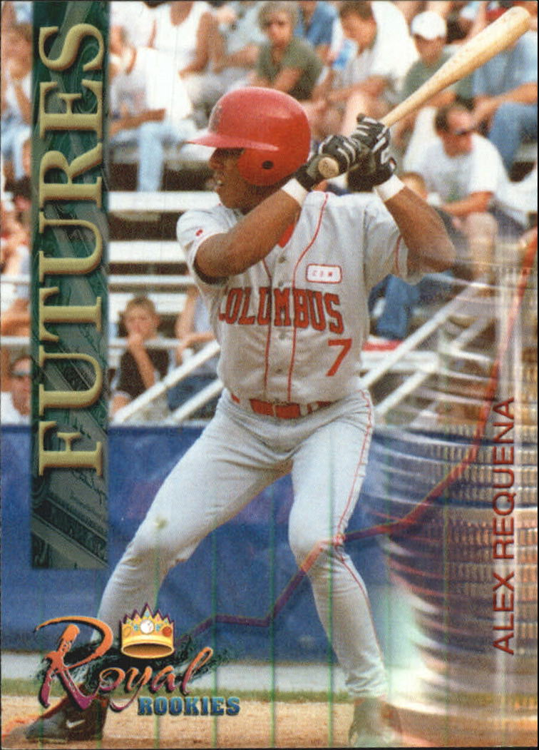 2000 Royal Rookies Futures #3 Alex Requena