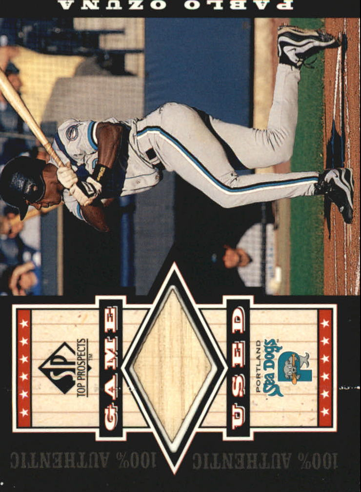 2000 SP Top Prospects Game Used Bats #GPO Pablo Ozuna