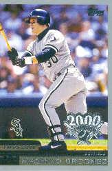 2000 Topps Opening Day #8 Magglio Ordonez