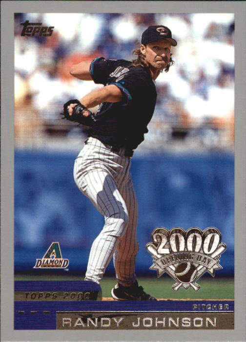 2000 Topps Opening Day #25 Randy Johnson