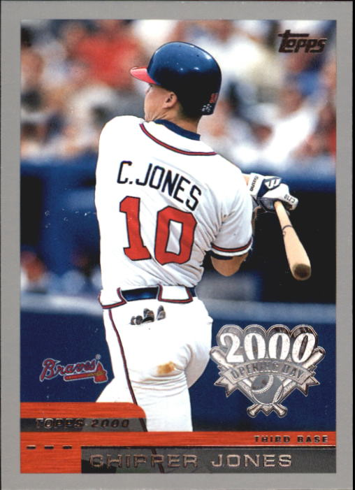 2000 Topps Opening Day #85 Chipper Jones