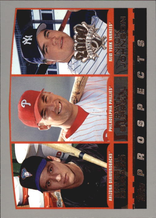 2000 Topps Opening Day #101 Durazo/Burrell/Johnson