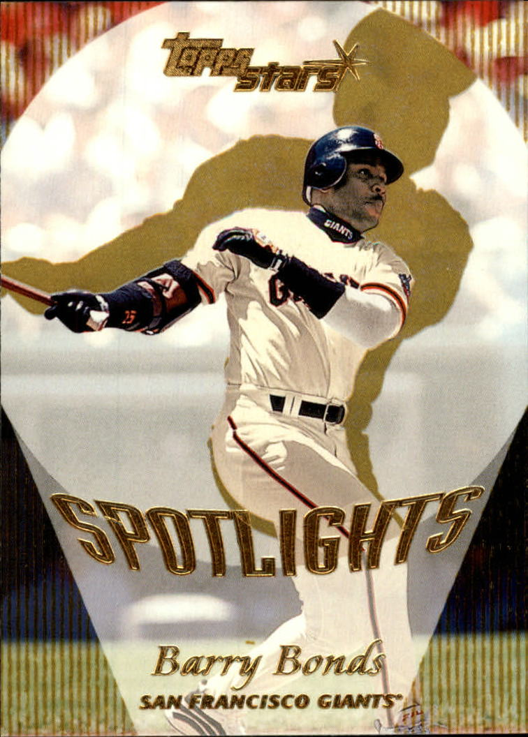 2000 Topps Stars #164 Barry Bonds SPOT