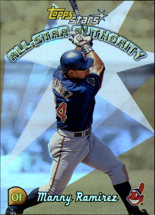 2000 Topps Stars All-Star Authority #AS10 Manny Ramirez