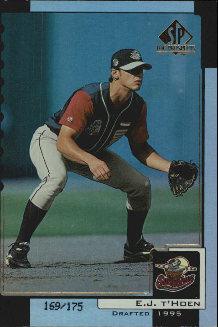 2000 SP Top Prospects Premium Edition #13 E.J. T'Hoen