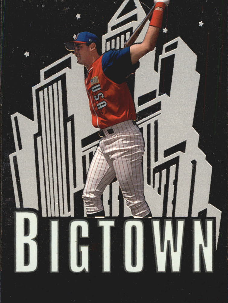 2000 SP Top Prospects Big Town Dreams #B8 Pat Burrell