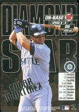 2000 MLB Showdown Diamond Star Promos #12 Edgar Martinez