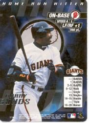 2000 MLB Showdown Home Run Hitter Promos #1 Barry Bonds