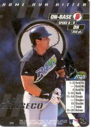 2000 MLB Showdown Home Run Hitter Promos #2 Jose Canseco