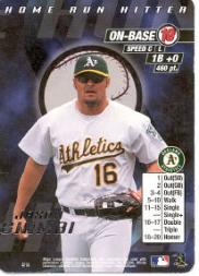 2000 MLB Showdown Home Run Hitter Promos #4 Jason Giambi