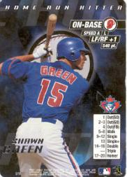 2000 MLB Showdown Home Run Hitter Promos #5 Shawn Green
