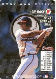 2000 MLB Showdown Home Run Hitter Promos #7 Andruw Jones