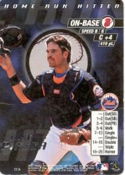 2000 MLB Showdown Home Run Hitter Promos #11 Mike Piazza
