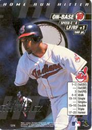 2000 MLB Showdown Home Run Hitter Promos #12 Manny Ramirez