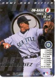 2000 MLB Showdown Home Run Hitter Promos #13 Alex Rodriguez